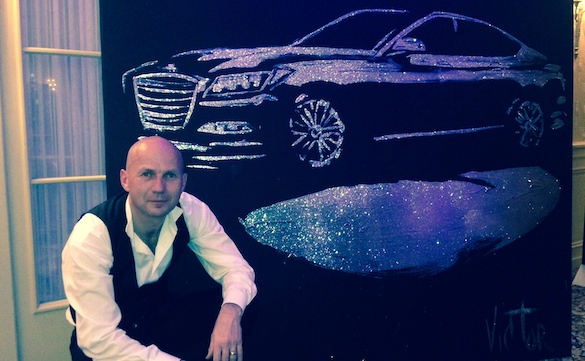 car launch, corporate event, car painting, car launch entertainment, painting corporate event