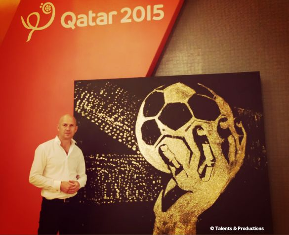 Great show for the draw of the 2015 Men's Handball World Championship in Qatar