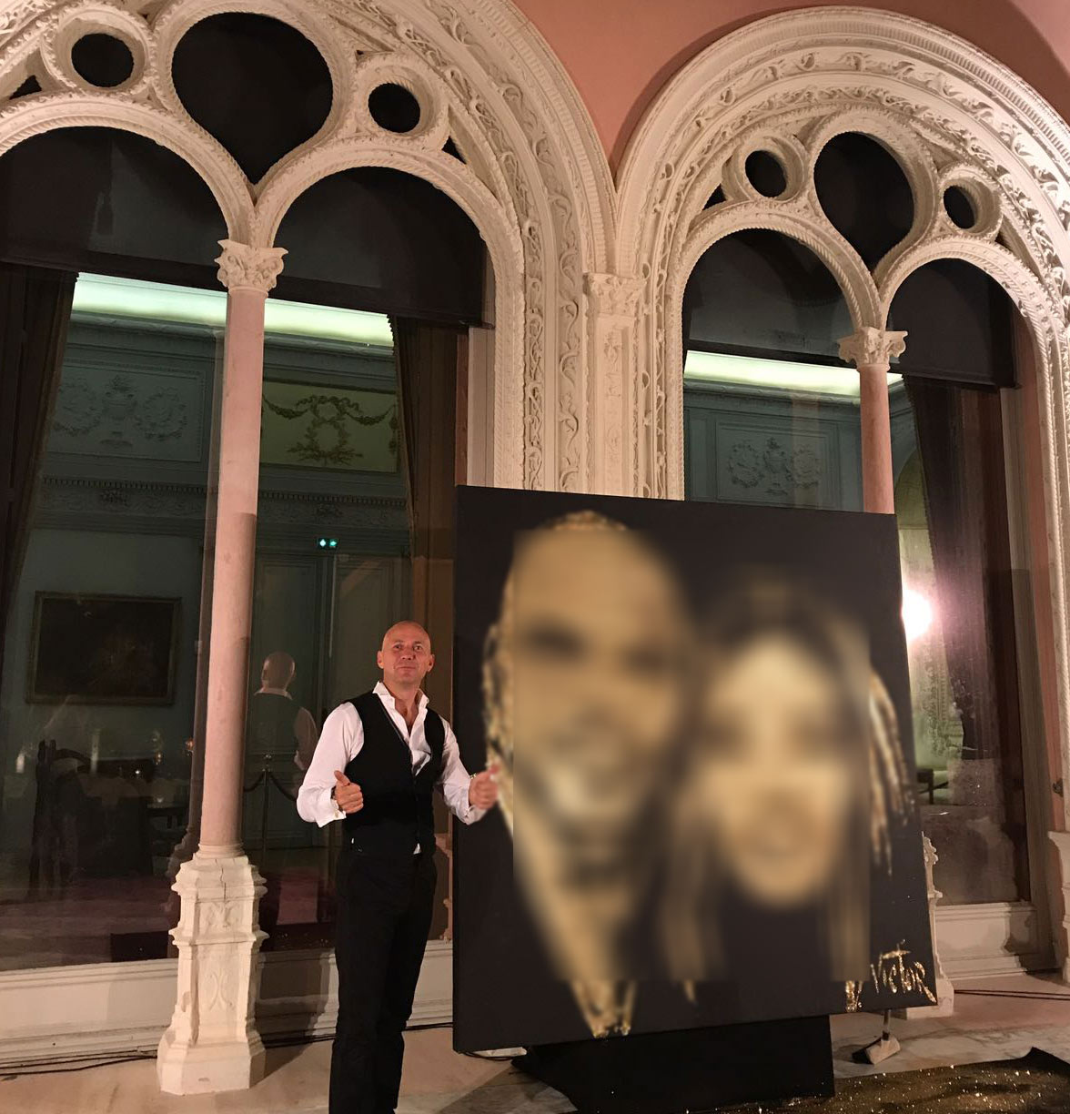 Wedding event performance in France